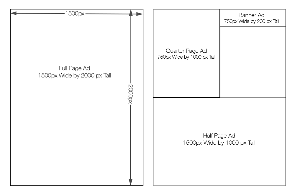 Ad Dimensions-Graphic