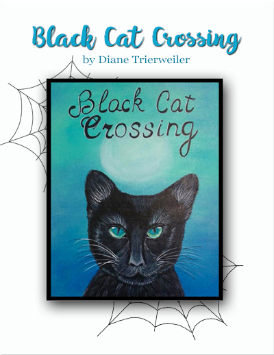 Black Cat Crossing Slide