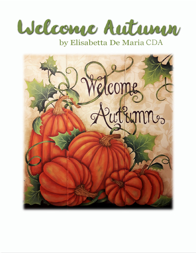 Welcome Autumn Slide