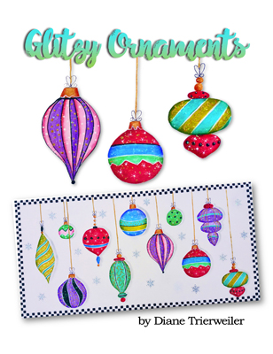Glitzy Ornaments Slide