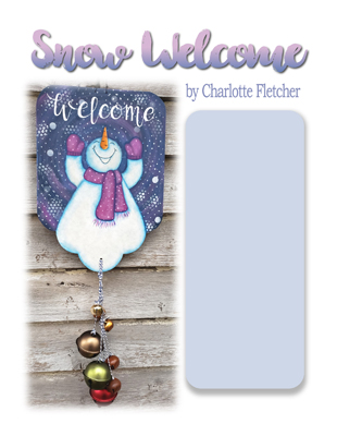 Snow Welcome Slide