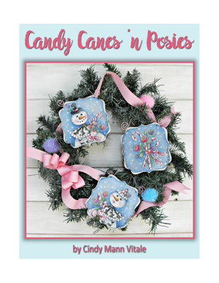 Candy Canes 'n Posies Slide