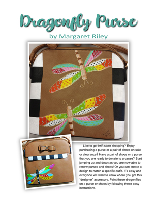 Dragonfly Purse Slide